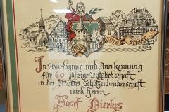 Ehrung Josef Dierkes